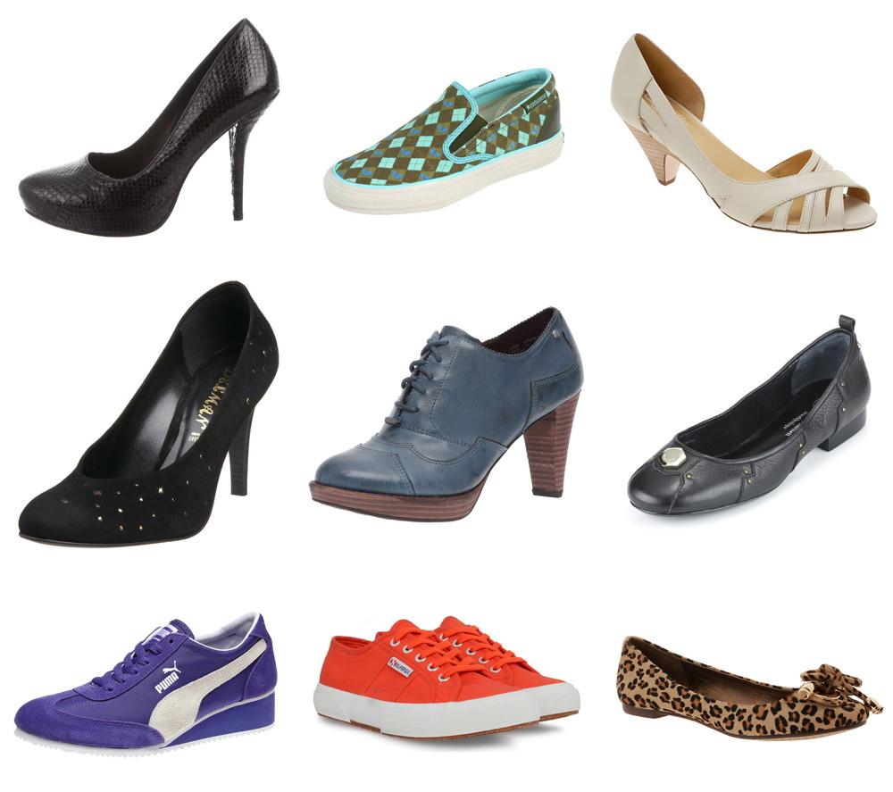 fivezero's old shoes: Elizabeth & James, Converse, Seychelles, Delman, Rockport, Hayden-Harnett, Puma, Superga, Jeffrey Campbell