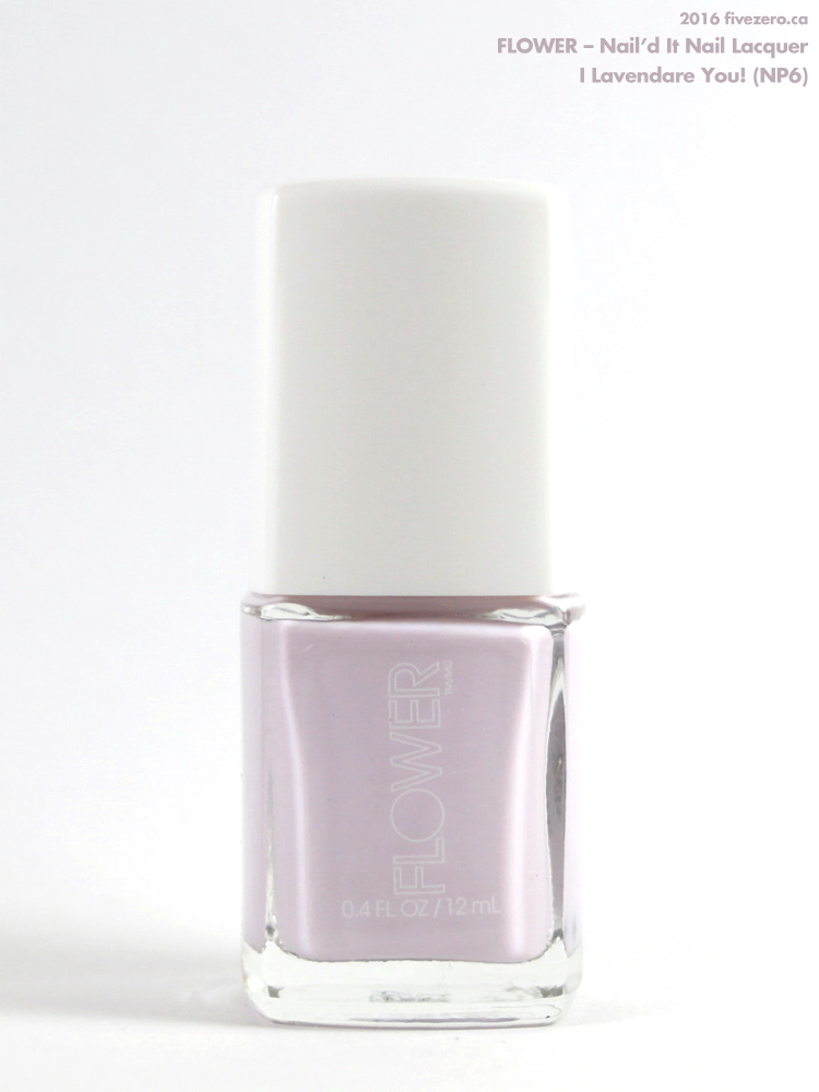 Flower Nail'd It Nail Lacquer in I Lavendare You!
