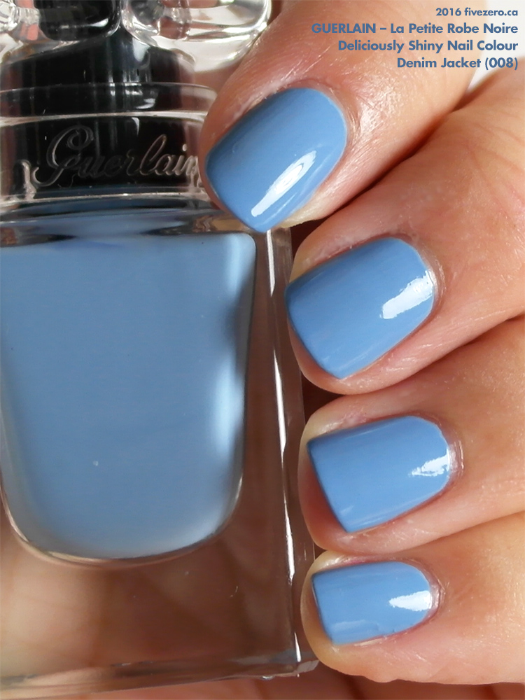 Guerlain Deliciously Shiny Nail Colour in Denim Jacket, swatch