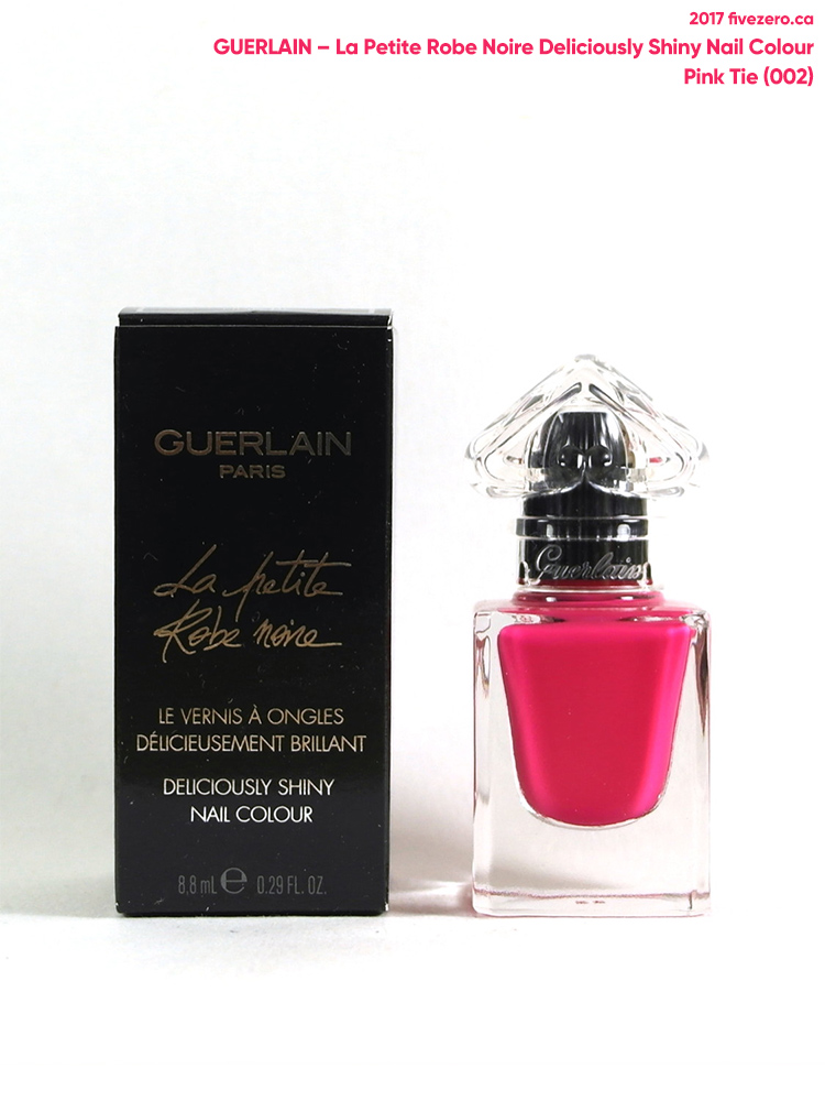 Guerlain La Petite Robe Noire Deliciously Shiny Nail Colour in Pink Tie