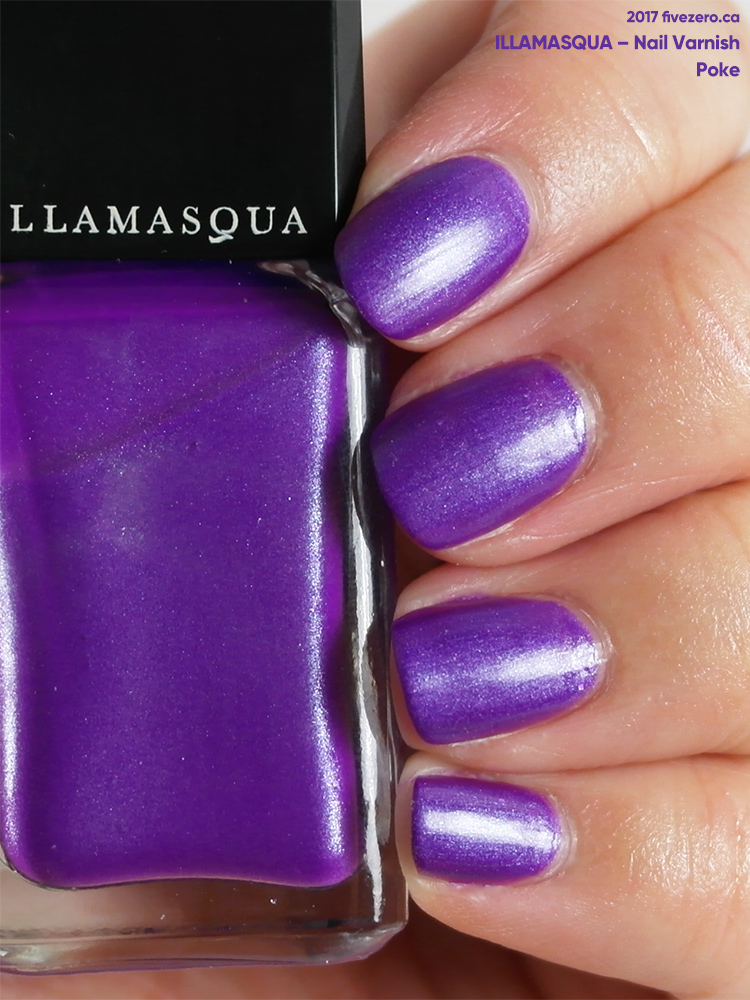 Illamasqua Nail Varnish in Poke, swatch