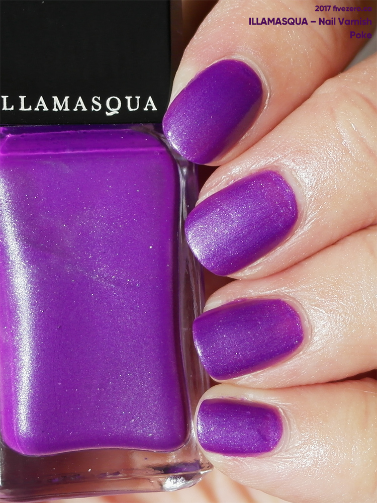 Illamasqua Nail Varnish in Poke, sunlight swatch