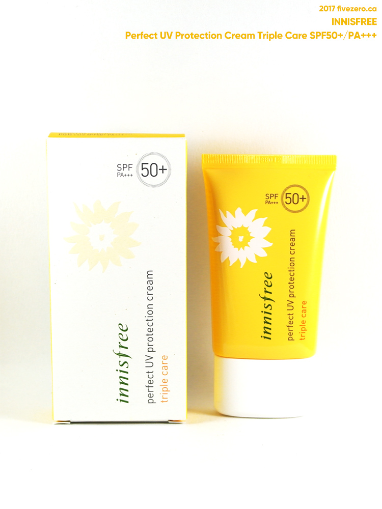 Innisfree Perfect UV Protection Cream Triple Care SPF50+/PA+++