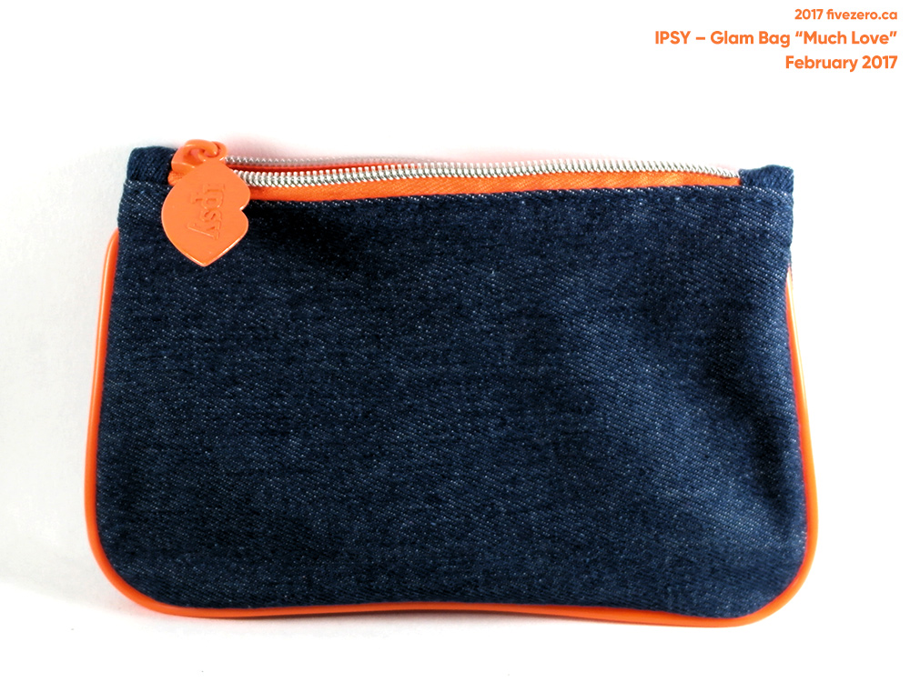 Ipsy Glam Bag Much Love makeup pouch (February 2017)