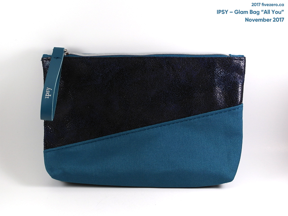 Ipsy Glam Bag makeup pouch (November 2017)