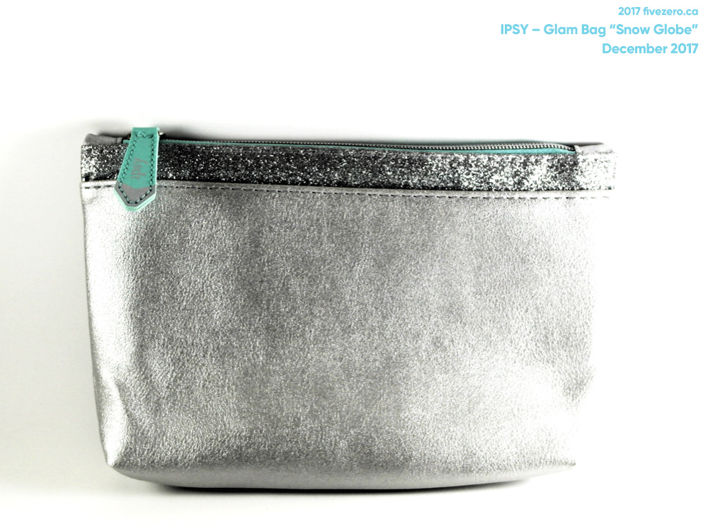 Ipsy Glam Bag makeup pouch (December 2017)