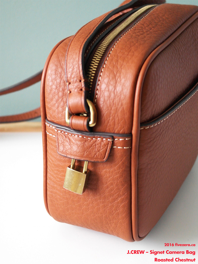 J.Crew Signet Bag in Roasted Chestnut