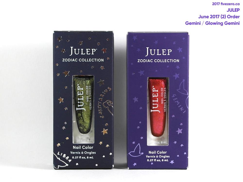 Julep Zodiac Nail Colors in Gemini, Glowing Gemini