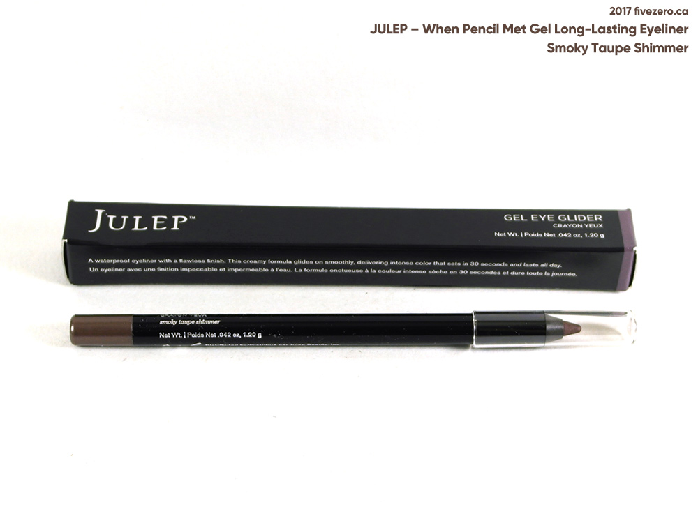 Julep When Pencil Met Gel Long-Lasting Eyeliner in Smoky Taupe Shimmer