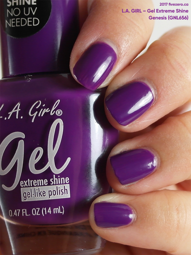 L.A. Girl Gel Extreme Shine in Genesis, swatch