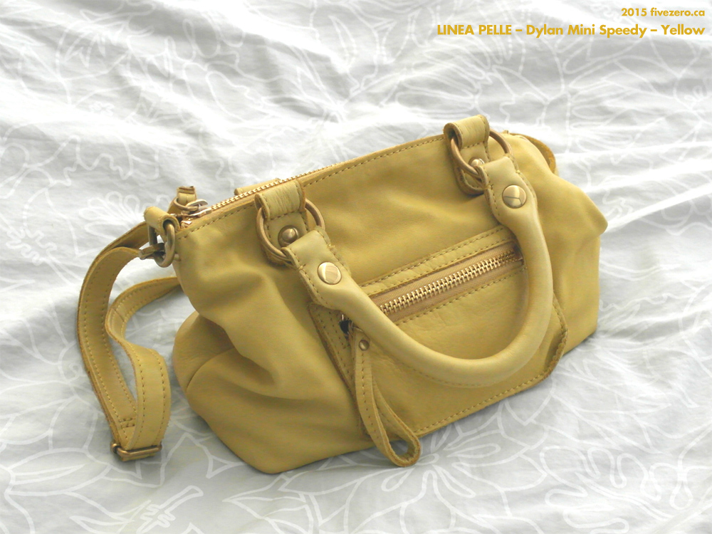Linea Pelle Dylan Mini Speedy in Yellow