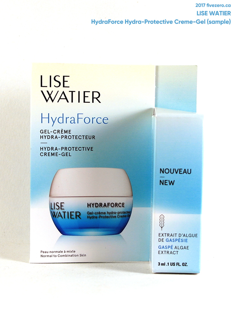 Lise Watier HydraForce Hydra-Protective Creme-Gel (free sample)
