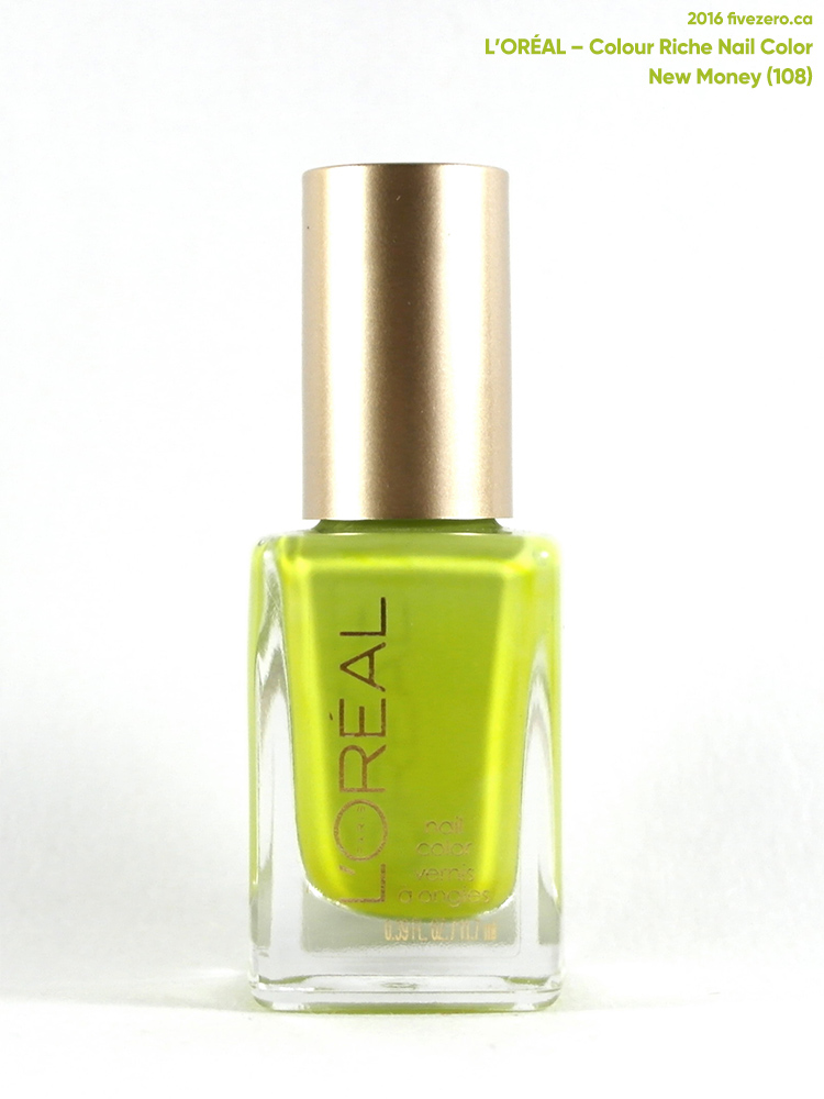 L'Oréal Colour Riche Nail Color in New Money