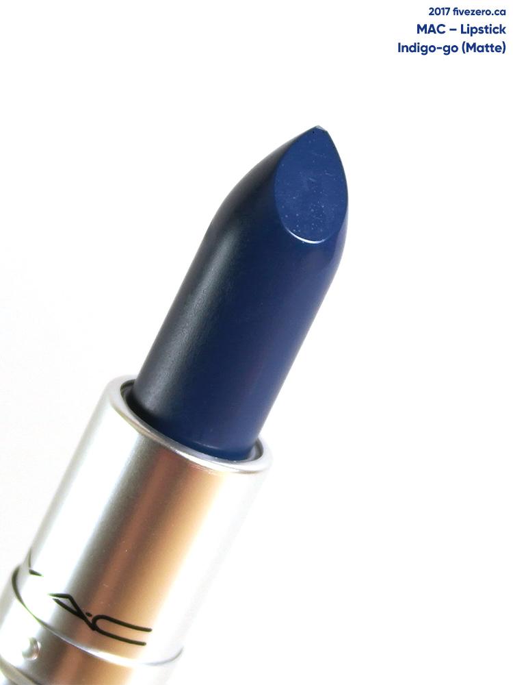 MAC Lipstick in Indigo-Go