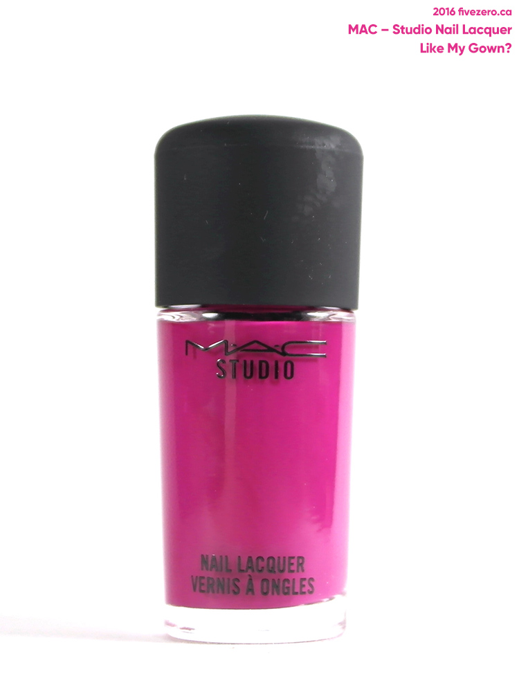 MAC Studio Nail Lacquer in Like My Gown?