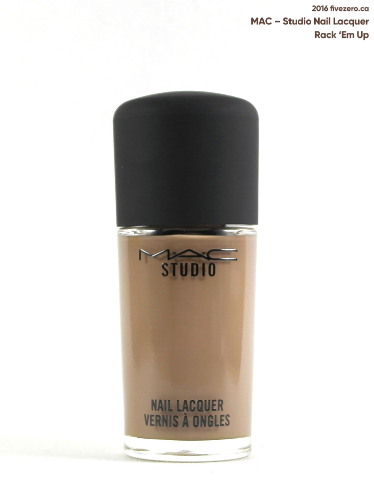 MAC Studio Nail Lacquer in Rack 'Em Up