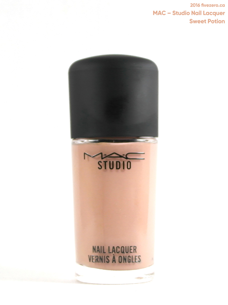 MAC Studio Nail Lacquer in Sweet Potion