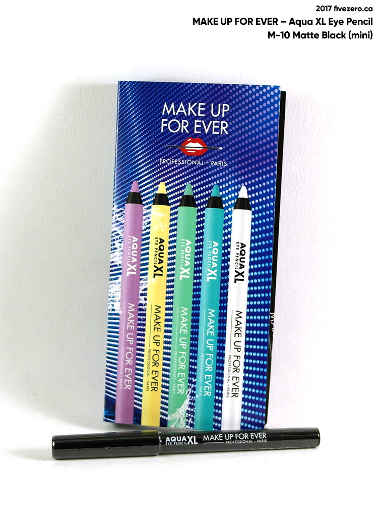 Make Up For Ever Aqua XL Eye Pencil in M-10 Matte Black (mini)