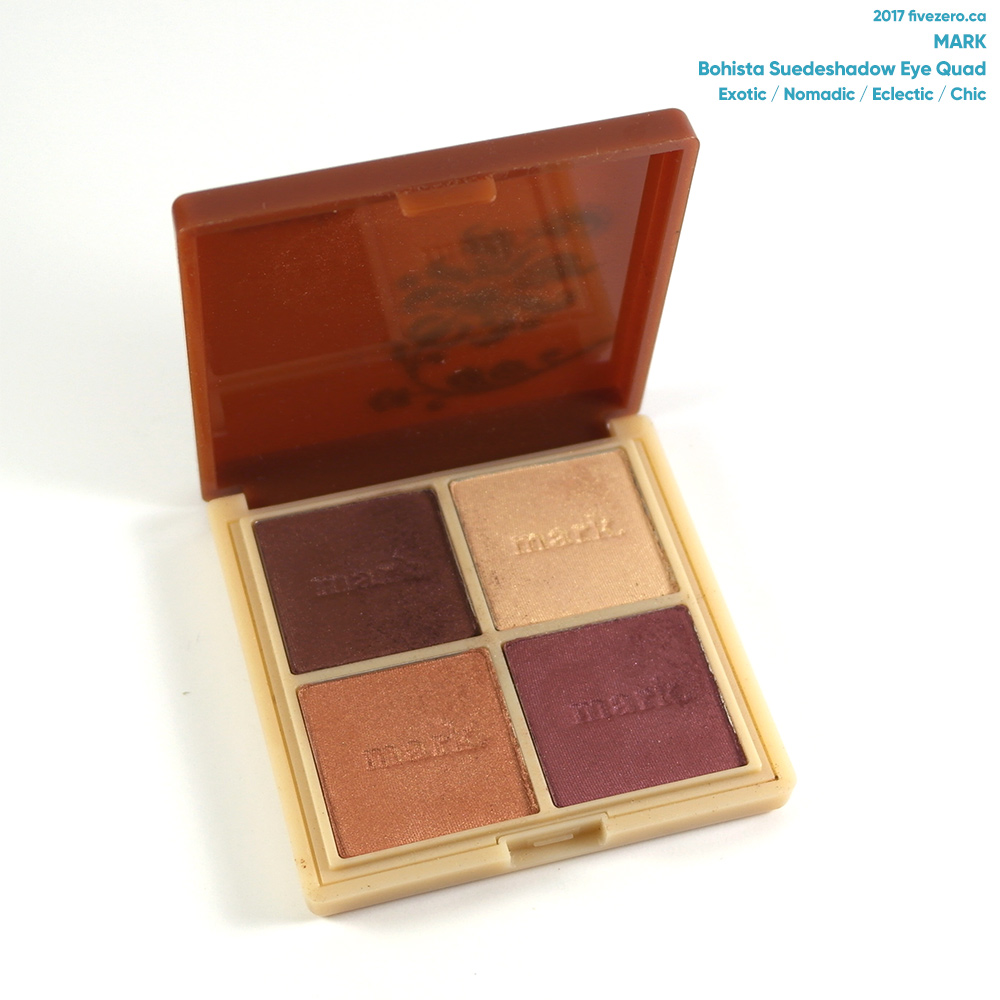 mark. by Avon Bohista eyeshadow quad