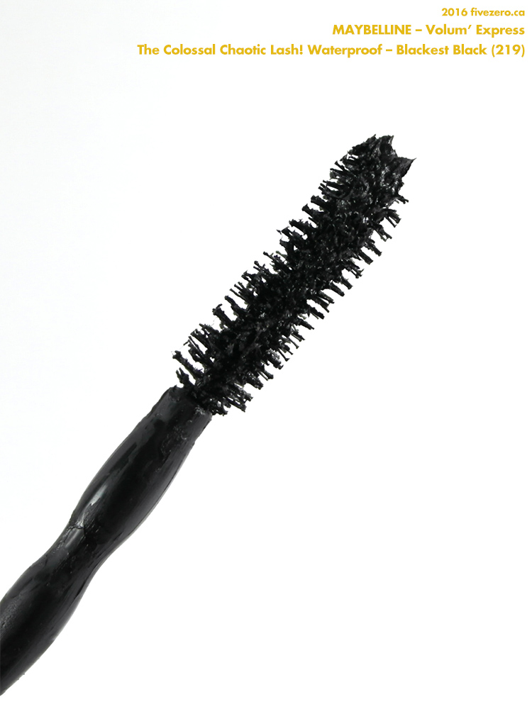 Maybelline Volum'Express The Colossal Chaotic Lash! Waterproof Mascara in Blackest Black