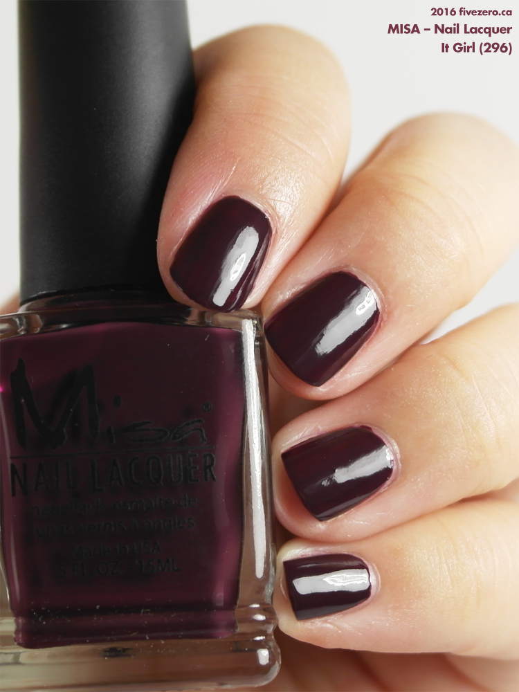 Misa Nail Lacquer in It Girl, swatch