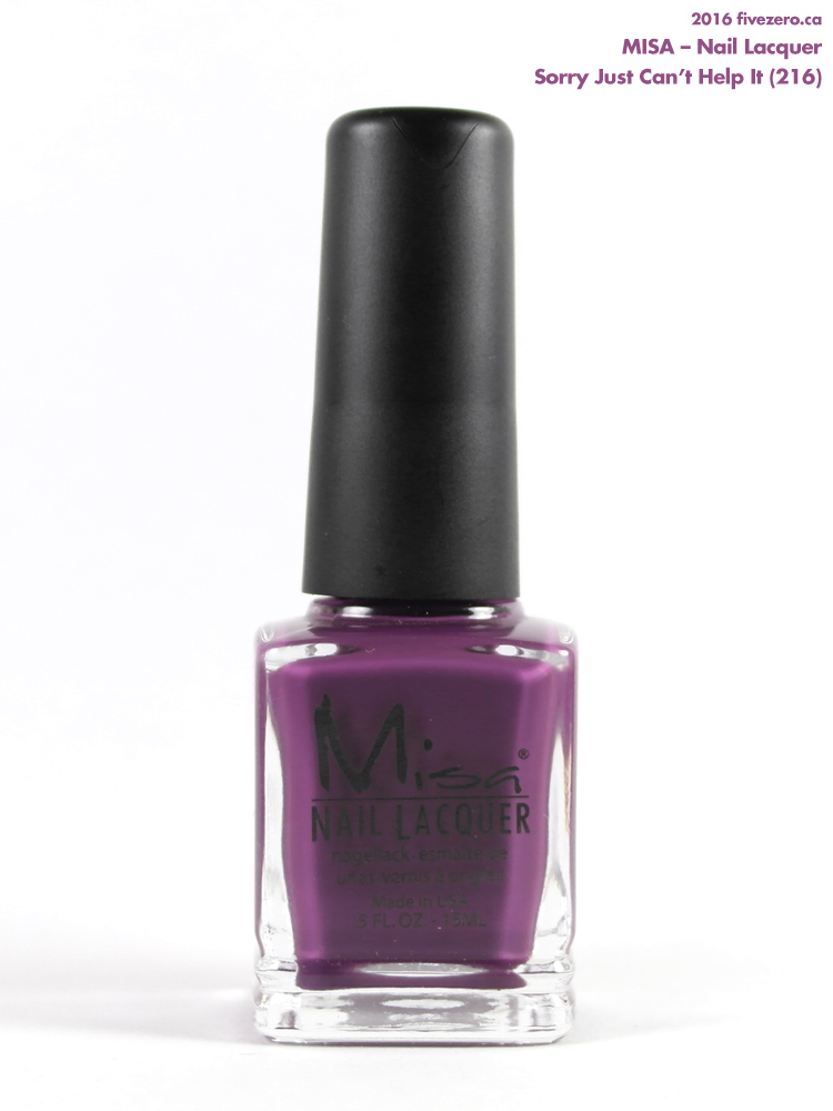 Misa Nail Lacquer in Sorry Just Can't Help It