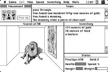 Screenshot of Scarab of Ra