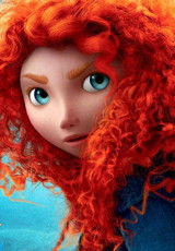Merida in Disney's Brave