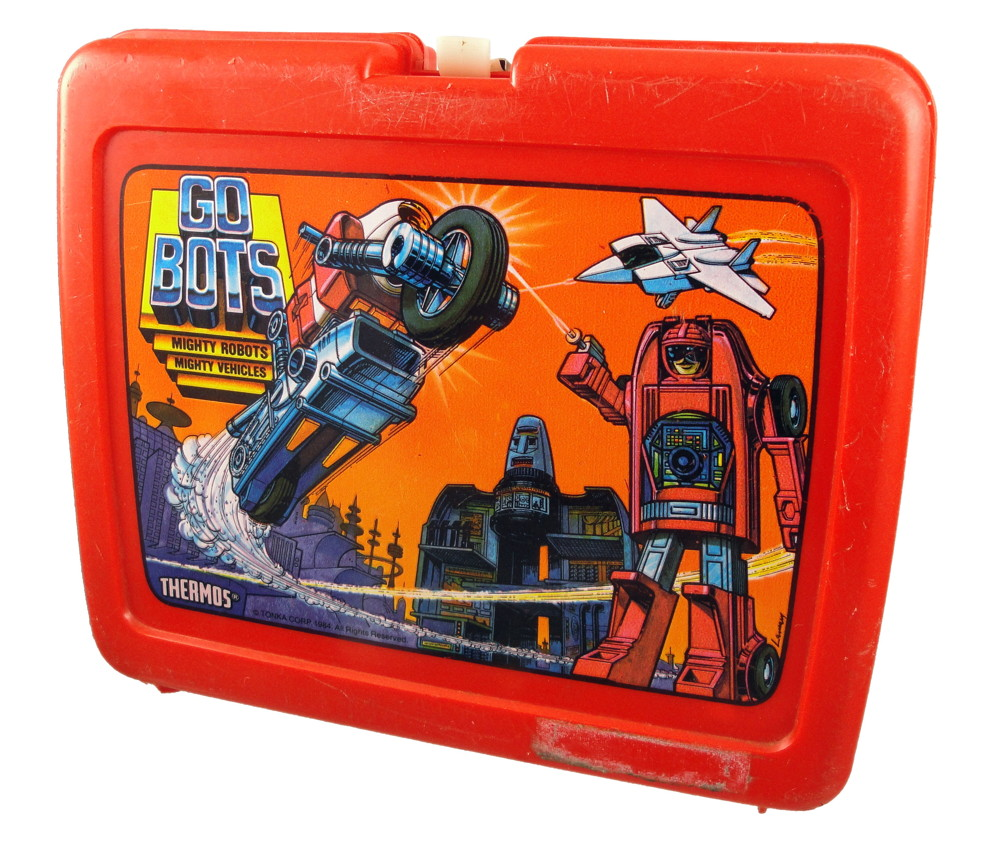 Gobots lunchbox