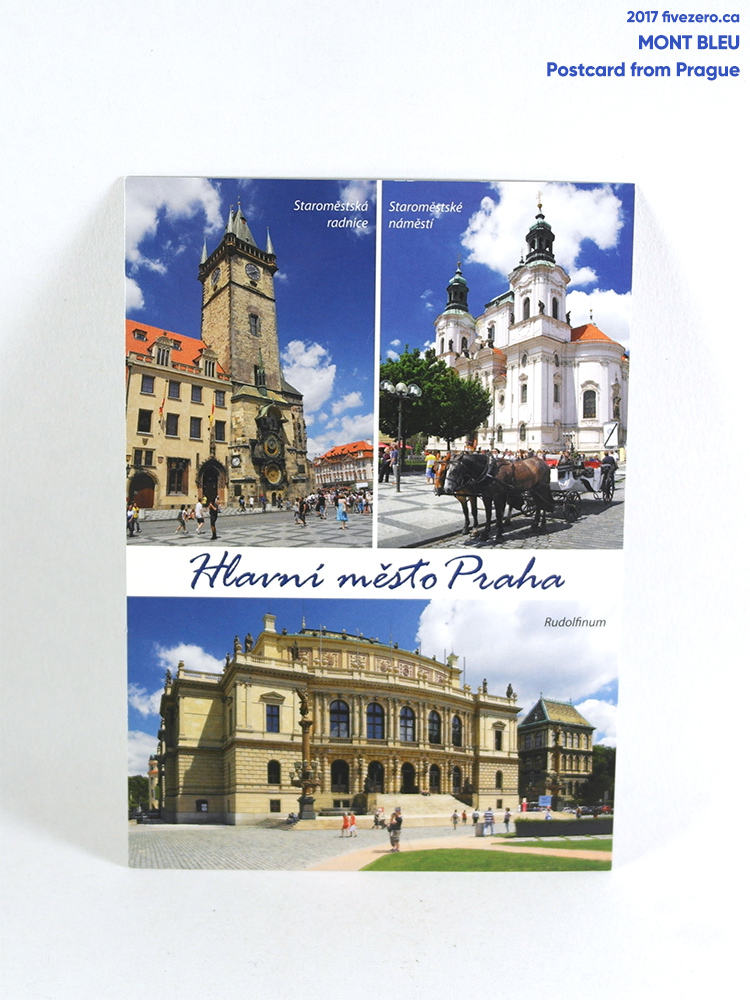 Mont Bleu, Postcard from Prague, Czech Republic