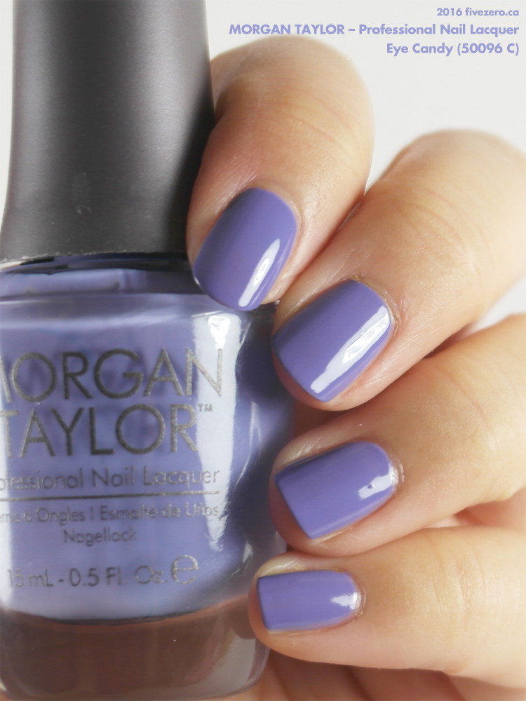 Morgan Taylor Professional Nail Lacquer in Eye Candy, swatch