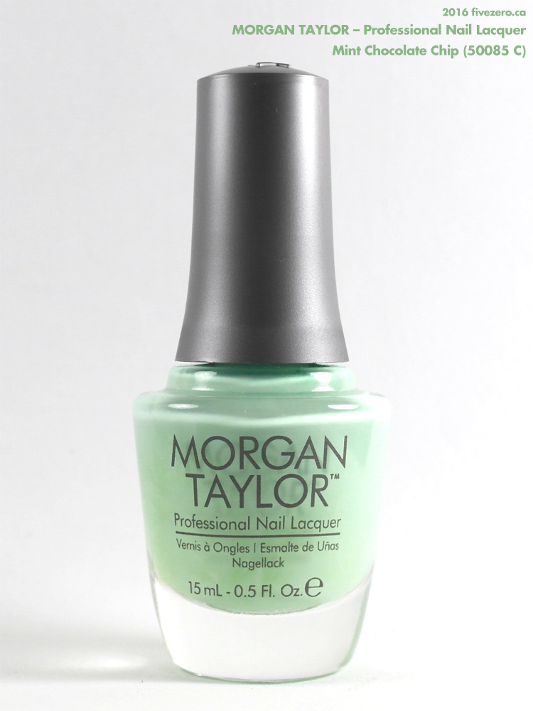 Morgan Taylor Professional Nail Lacquer in Mint Chocolate Chip