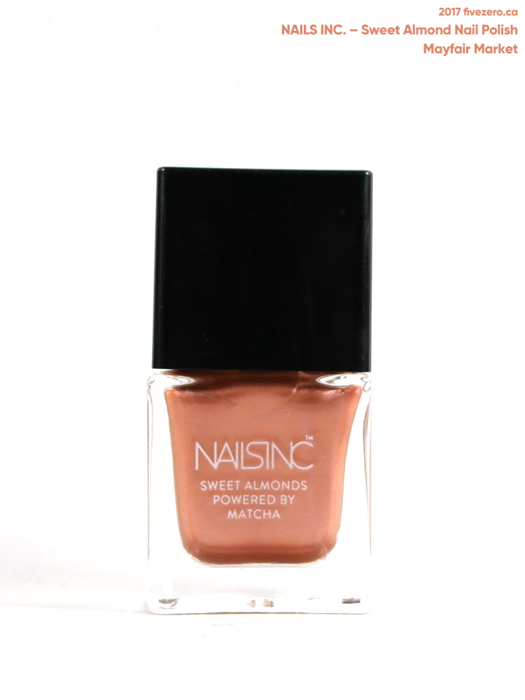 Nails Inc. Sweet Almond Nail Polish in Mayfair Market (mini)