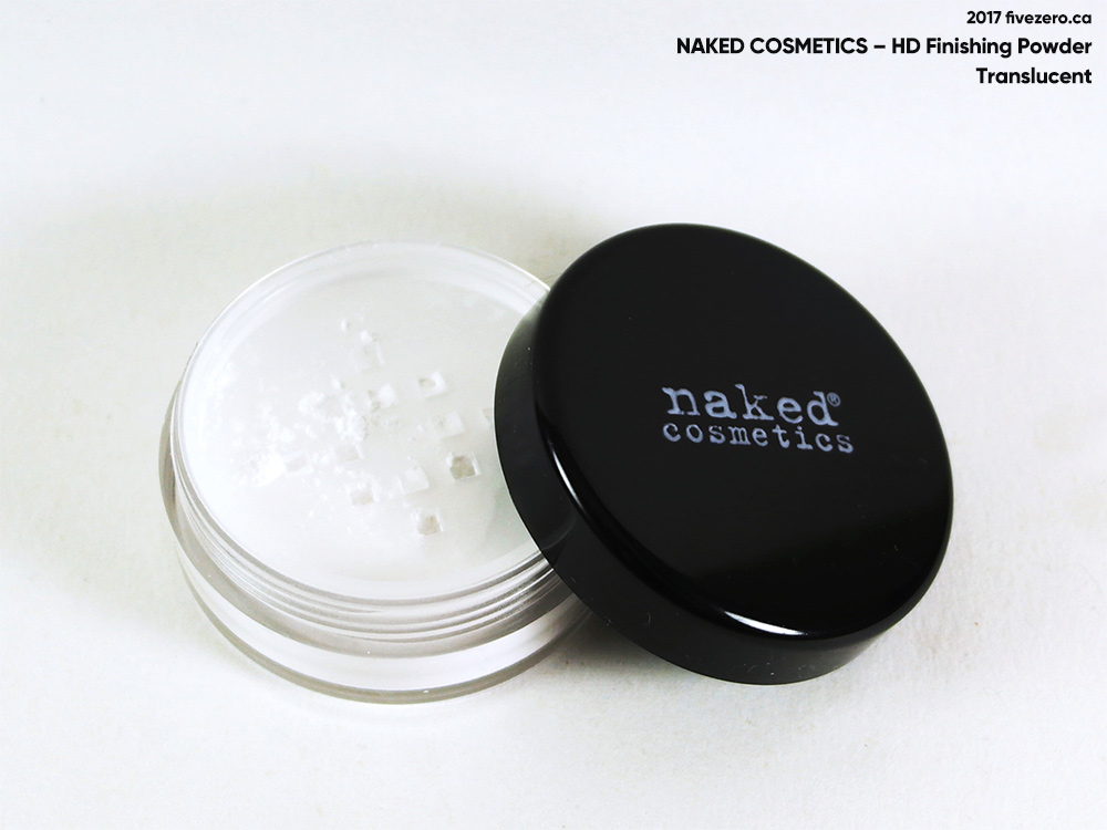 Naked Cosmetics — HD Finishing Translucent Powder
