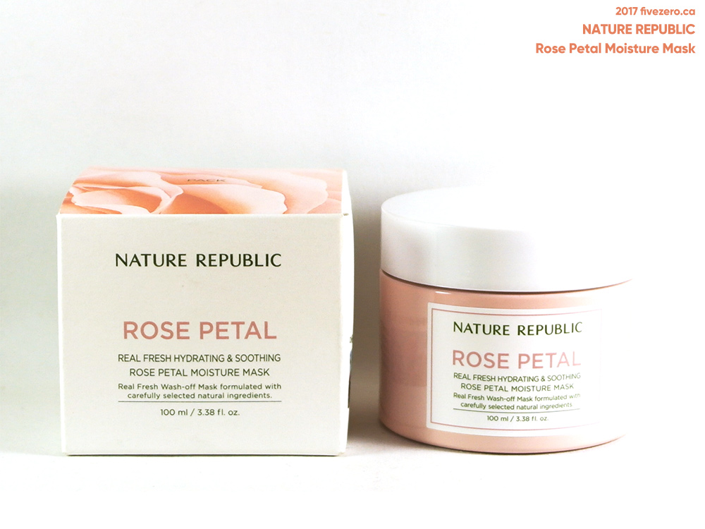 Nature Republic Rose Petal Moisture Mask