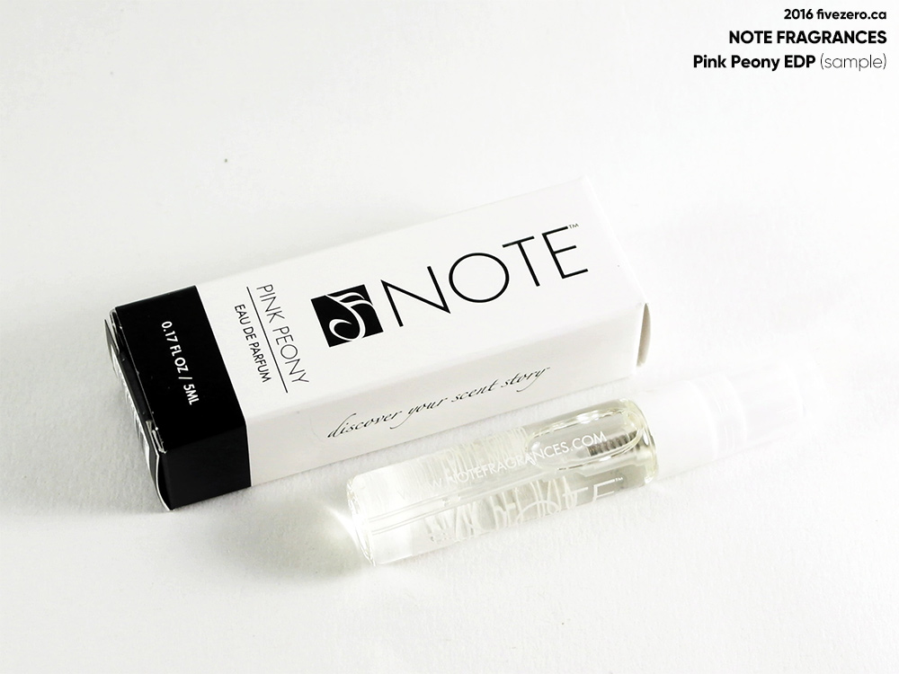 NOTE Fragrances Pink Peony EDP (mini)