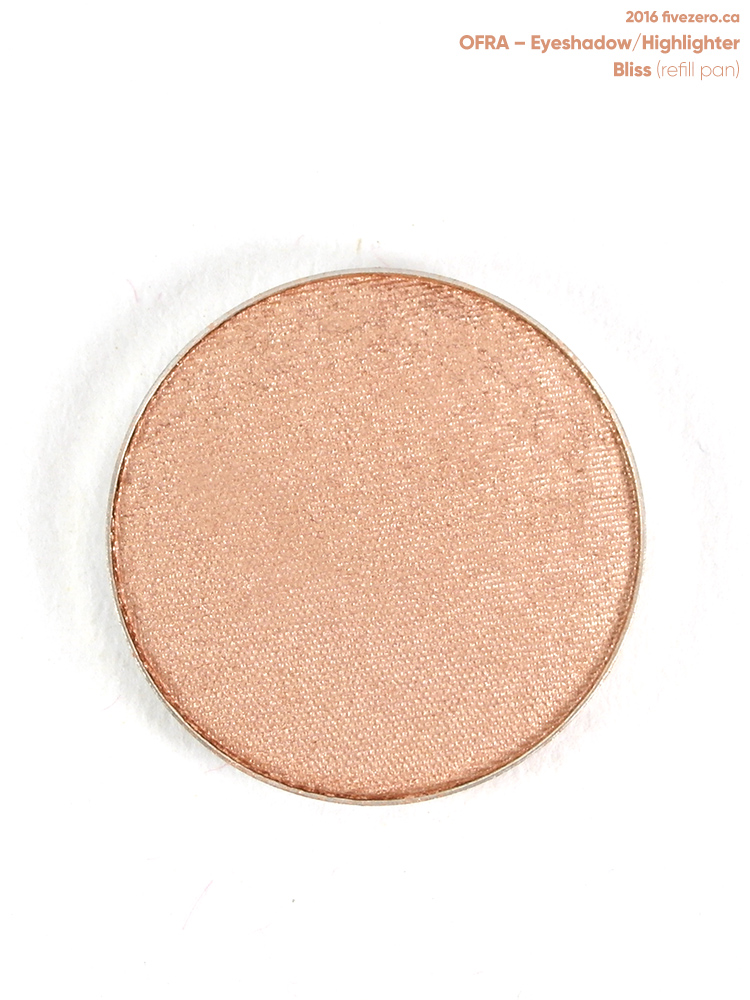 OFRA Eyeshadow/Highlighter in Bliss (refill pan)