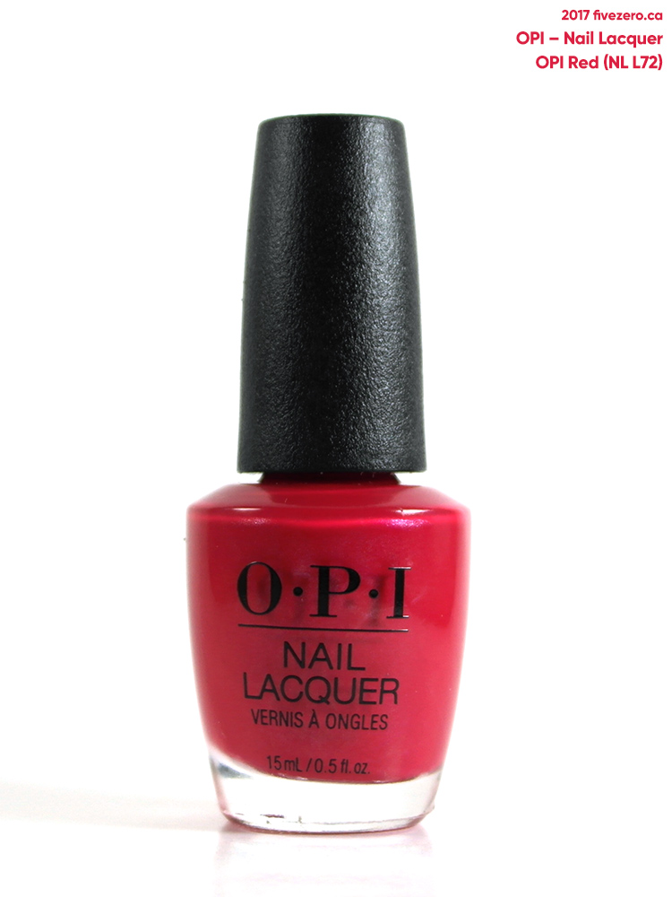 OPI Nail Lacquer in OPI Red