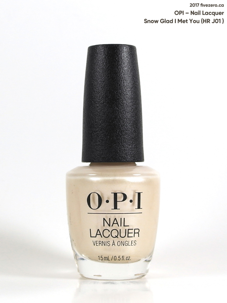 OPI Nail Lacquer in Snow Glad I Met You