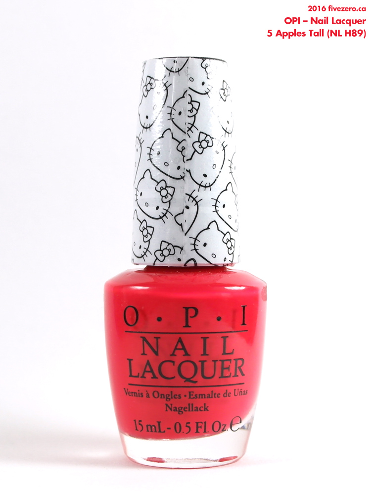 OPI Nail Lacquer in 5 Apples Tall