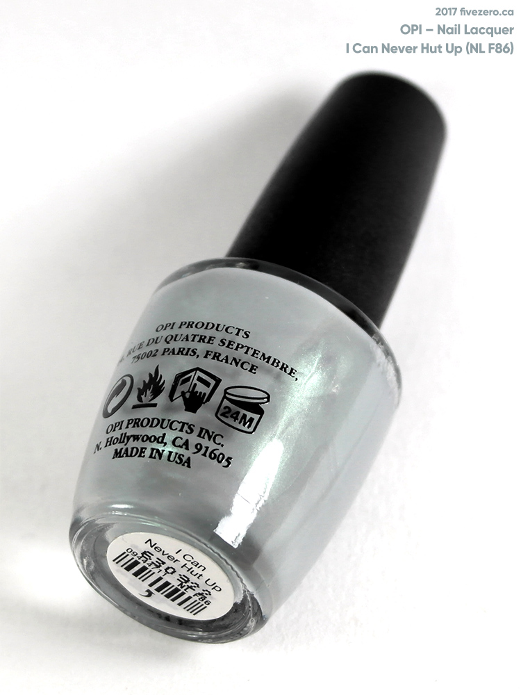 OPI Nail Lacquer in I Can Never Hut Up