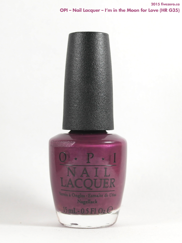 OPI Nail Lacquer in I'm in the Moon for Love