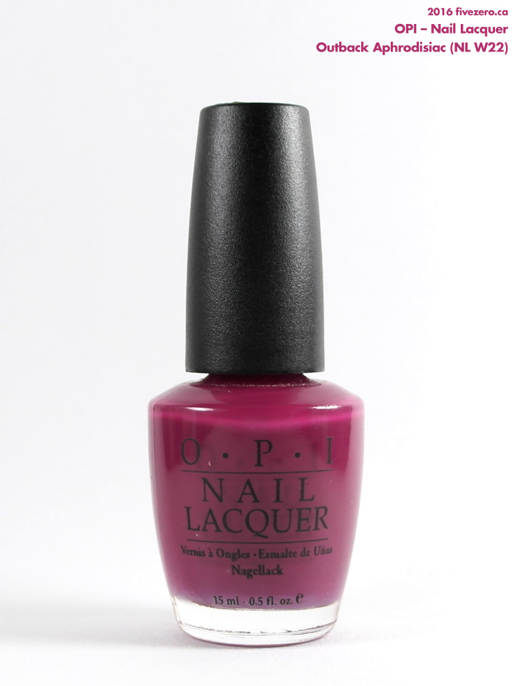 OPI Nail Lacquer in Outback Aphrodisiac