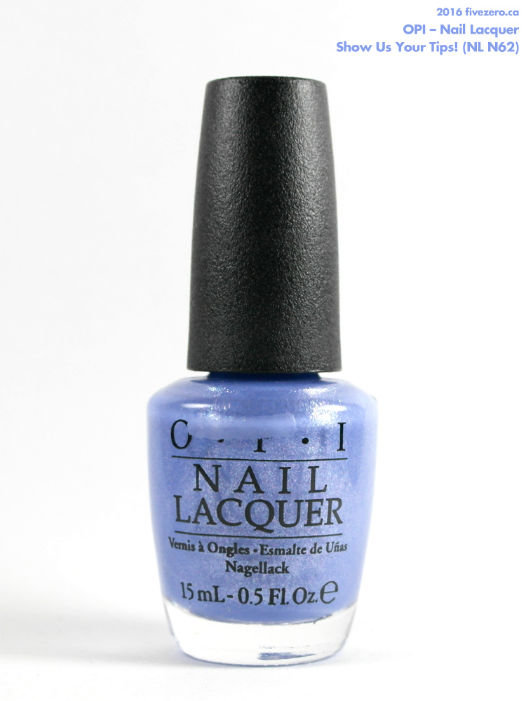 OPI Nail Lacquer in Show Us Your Tips!