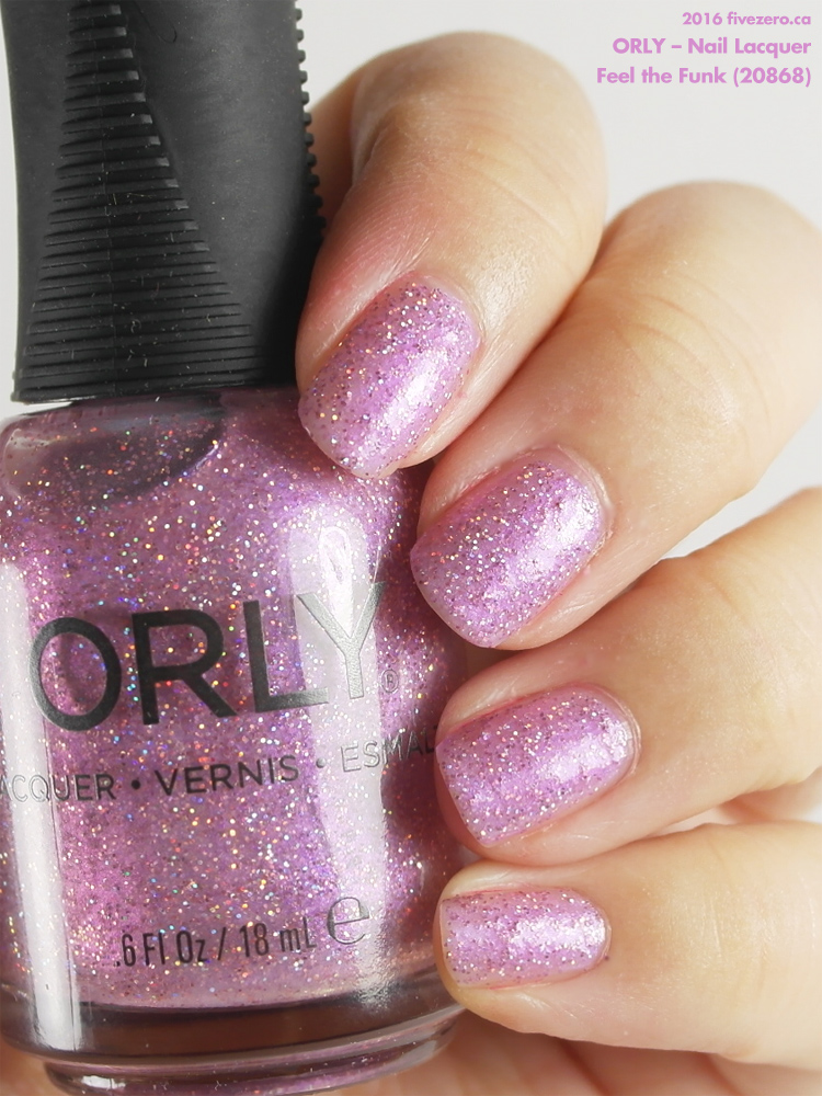 Orly Nail Lacquer in Feel the Funk, swatch