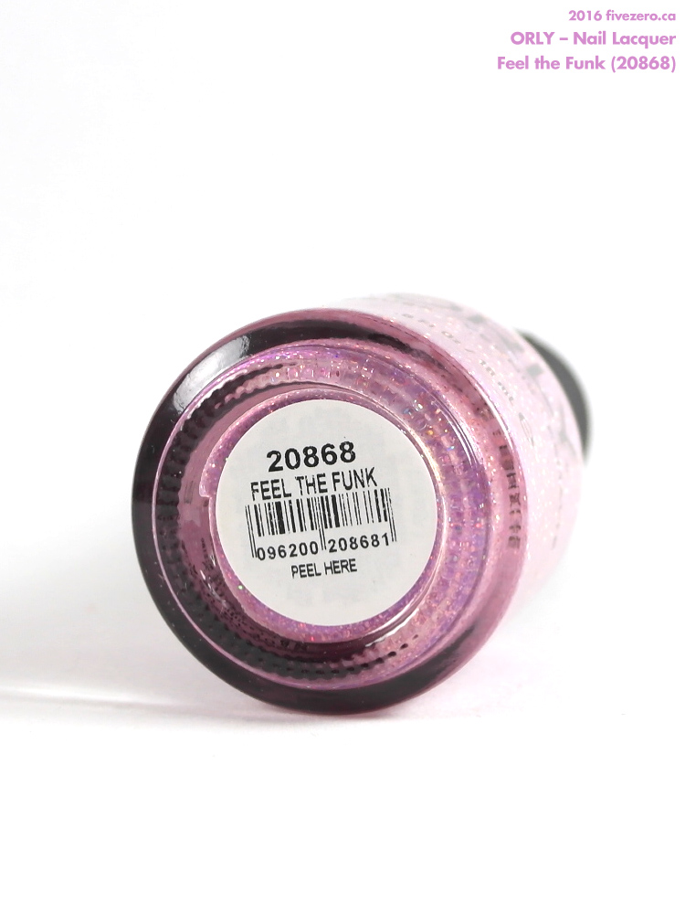 Orly Nail Lacquer in Feel the Funk, label