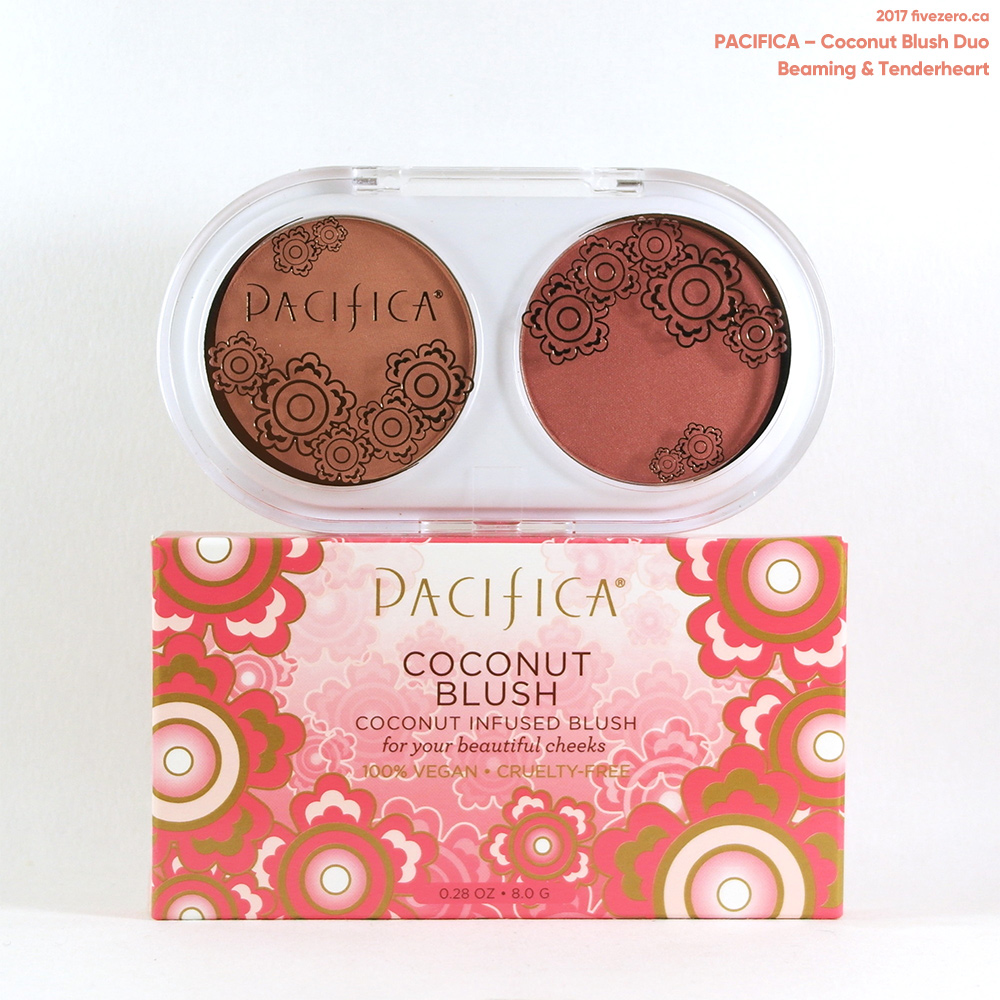 Pacifica — Coconut Blush Duo in Beaming & Tenderheart