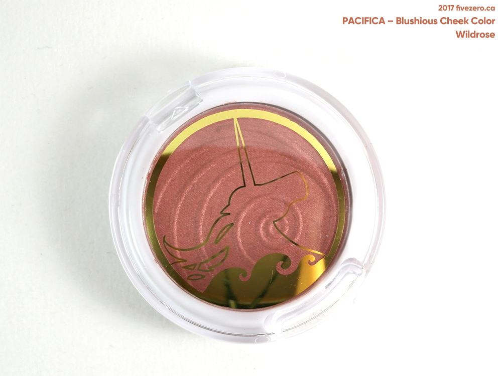 Pacifica Blushious Coconut & Rose Infused Cheek Color in Wildrose (Ipsy packaging)