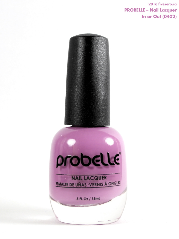 Probelle Nail Lacquer in In or Out, bottle