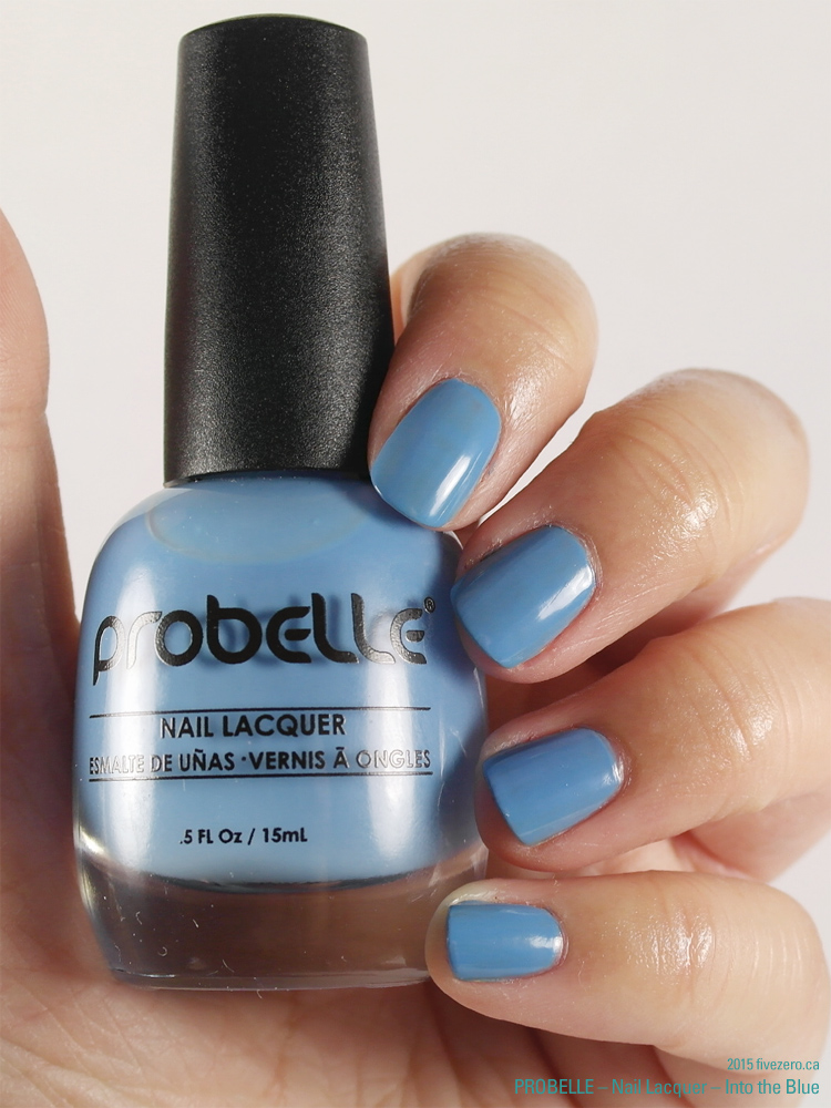 Probelle Nail Lacquer in Into the Blue, swatch